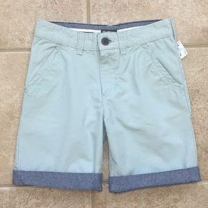 OshKosh B'gosh Flat Front Twill Roll Cuff Shorts